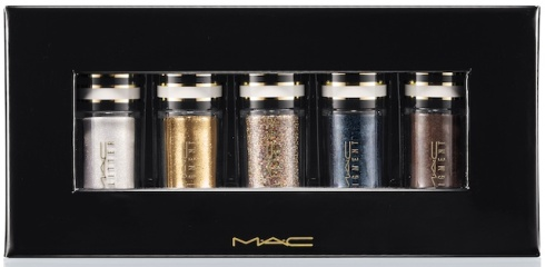 MAC Nocturnals Pigments and Glitter Green and Teal