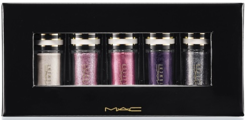 MAC Nocturnals Pigments and Glitter Silver and Violet