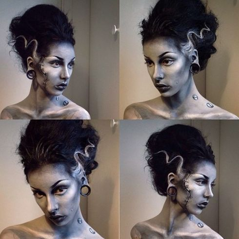 M∙A∙C Rick Baker Halloween Challenge Honourable Mention - MONSTER BRIDE by Angelica Sehlin
