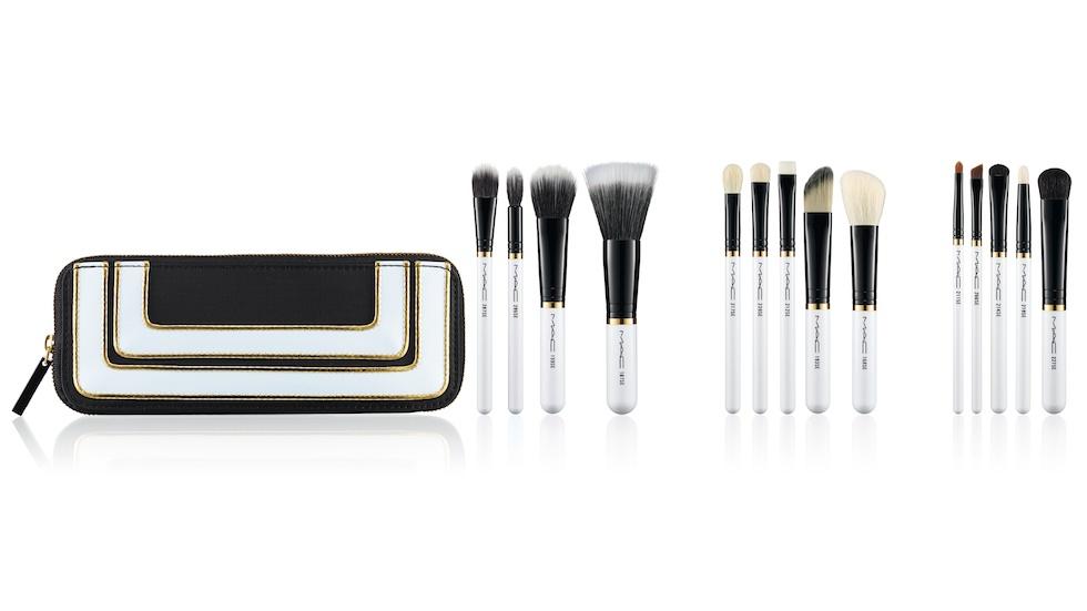 mac stroke of midnight smokey eye brush kit