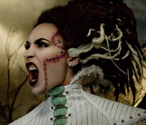 M·A·C x Rick Baker Halloween 2013-07 Bride