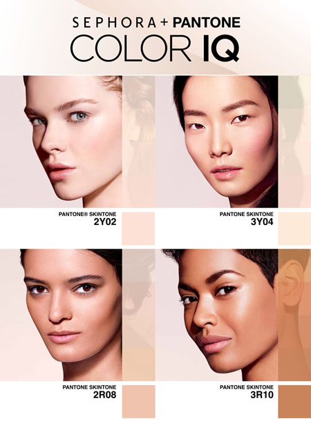 Sephora + Pantone Color IQ system: No more mismatches, no more guesswork, no more error.