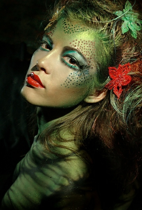 Colorful Poison Ivy