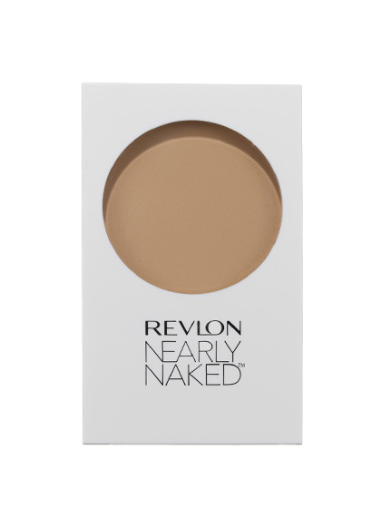 Revlon Nearly Naked Pressed Powder is so gossamer, it feels like wearing nothing, but the shine-free, poreless T-zone in the mirror—now that's something.