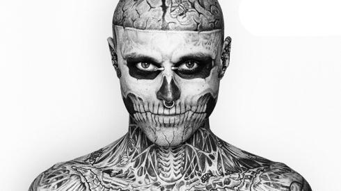 Rick Genest Skeleton