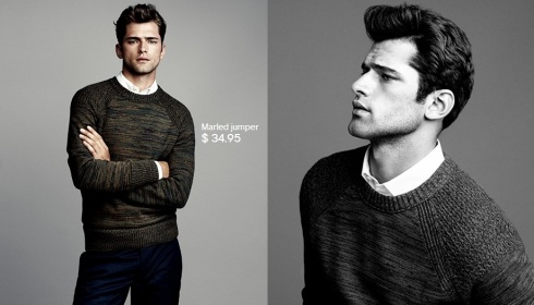 Sean O'Pry for HM Winter Knits 2013-02