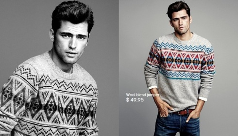 Sean O'Pry for HM Winter Knits 2013-03