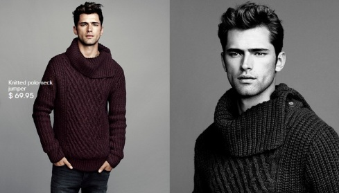 Sean O'Pry for HM Winter Knits 2013-04