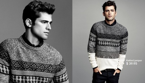 Sean O'Pry for HM Winter Knits 2013-05