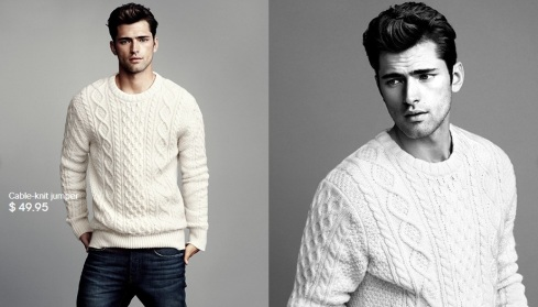 Sean O'Pry for HM Winter Knits 2013-06