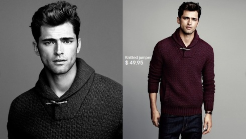 Sean O'Pry for HM Winter Knits 2013-07