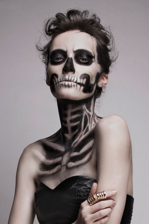 Skeleton Make-up Mademoisele