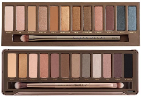 Urban Decay - Naked Palettes: Monochromatic Color in Neutral Shades