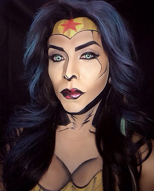 The Best Female Super Hero Face Painting Ideas