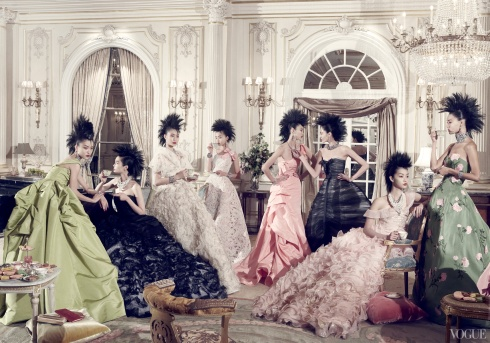 Photographed by Steven Meisel