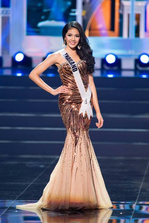 Chalita Yaemwannang, Miss Thailand 2013