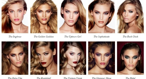 Charlotte Tilbury Signature Makeup Looks
