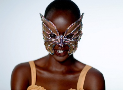 Erickson Beamon worn by Ajak Deng