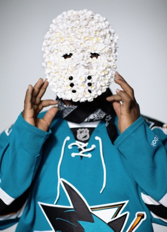 Eugenia Kim mask worn by A$AP Ferg
