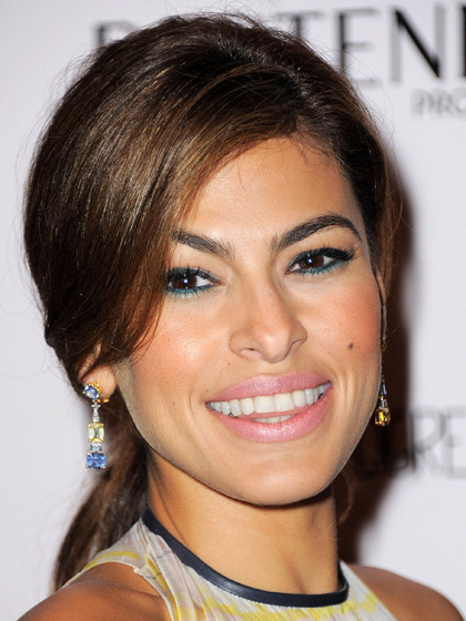 Eva Mendes - Two-tone Eyes: Green