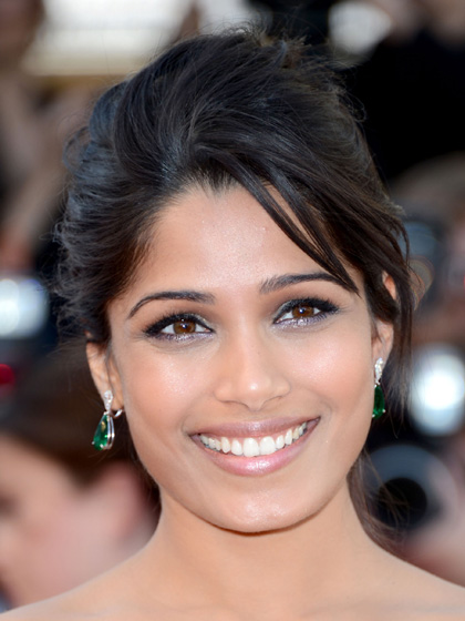 Freida Pinto - Two-tone Eyes: Metallic