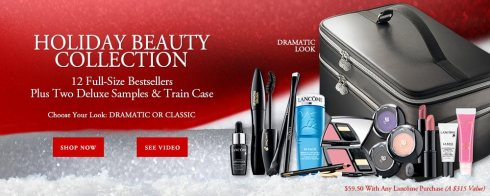 Lancôme Holiday Beauty Collection 2013