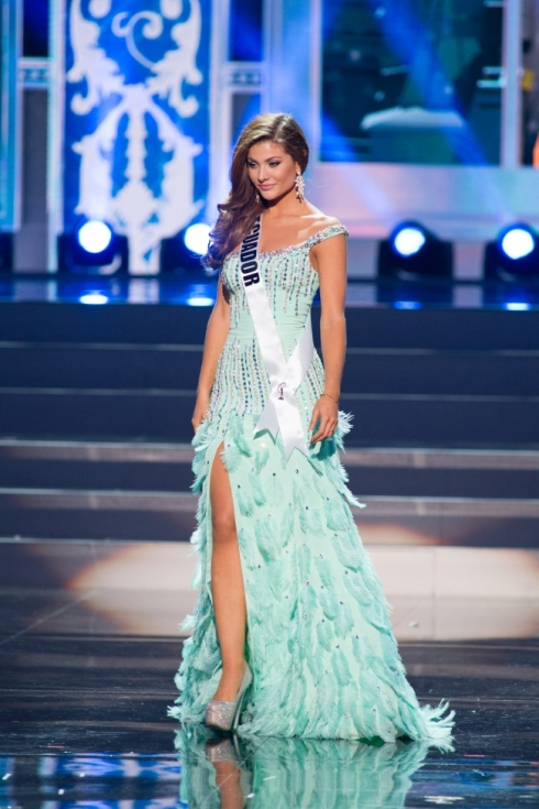 Second Runner-Up: Miss Universe Ecuador, Constanza Baez