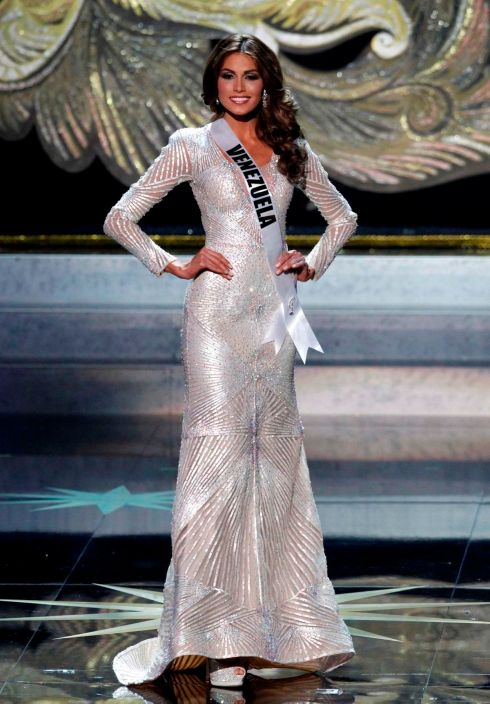Miss Universe 2013 Gabriela Isler in Evening Gown