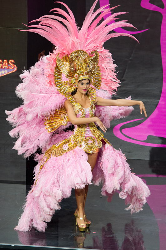 National Costumes Miss Universe 2013