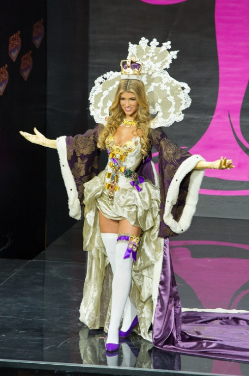 Miss Universe 2013 - National Costume: Great Britain