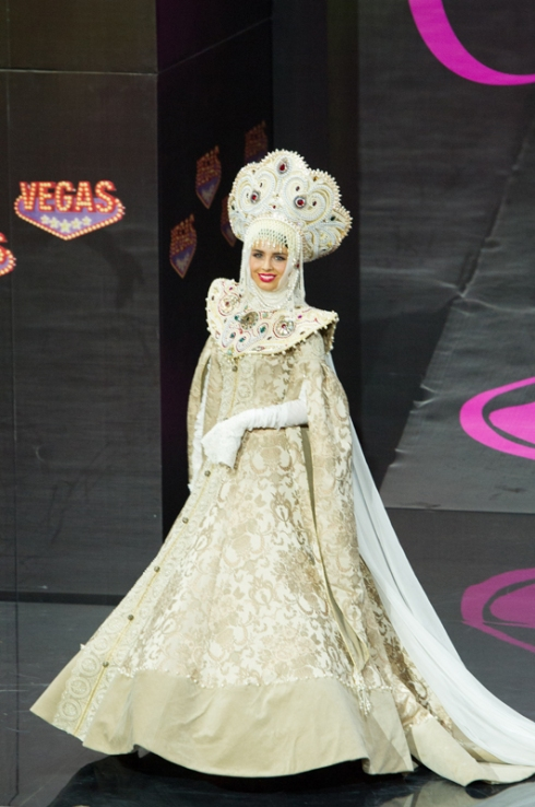 Miss Universe 2013 - National Costume: Russia
