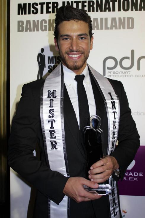 Mr. International 2012 - Ali Hammoud of Lebanon