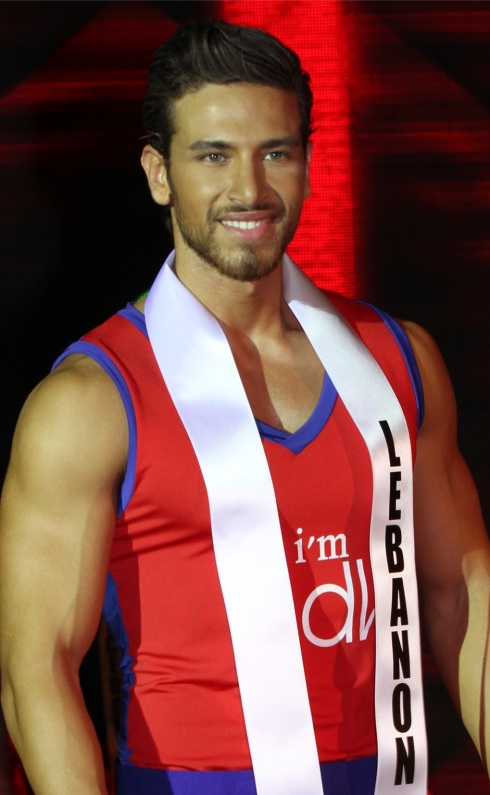 Mr. International 2012 - Ali Hammoud of Lebanon