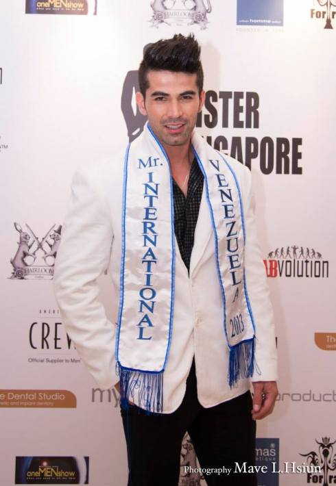 Mister International 2013 - Jose Anmer Paredes (Venezuela)