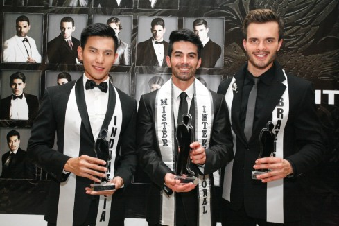 Top 3 Mister International 2013