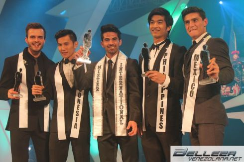 Top 5 Mister International 2013