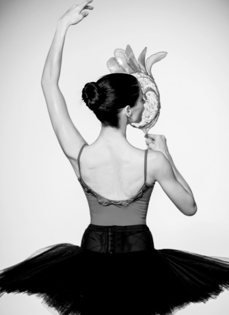 William Ivey Long mask worn by Vanessa Zahorian of the San Francisco Ballet