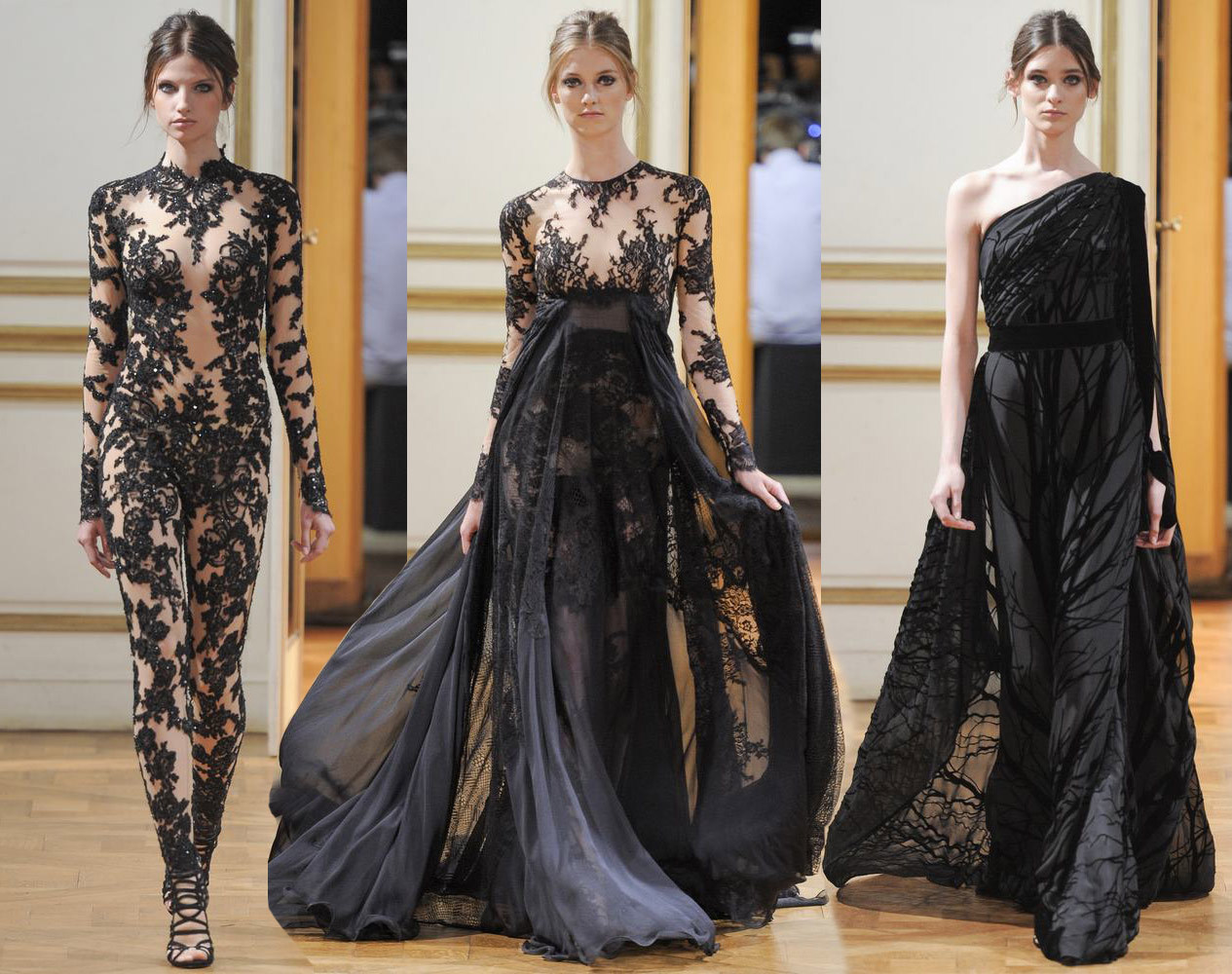 Zuhair Murad Couture Fall 2013 Tommy Beauty Pro