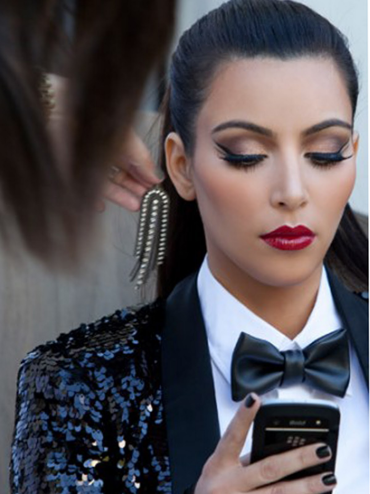 Kim Kardashian Makeup Looks Tommy Beauty Pro