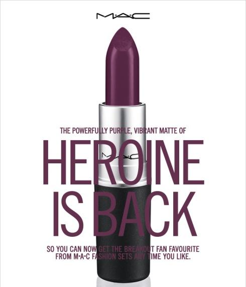 M∙A∙C Heroine Lipstick