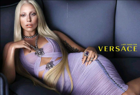 Lady Gaga for Versace 2014-01