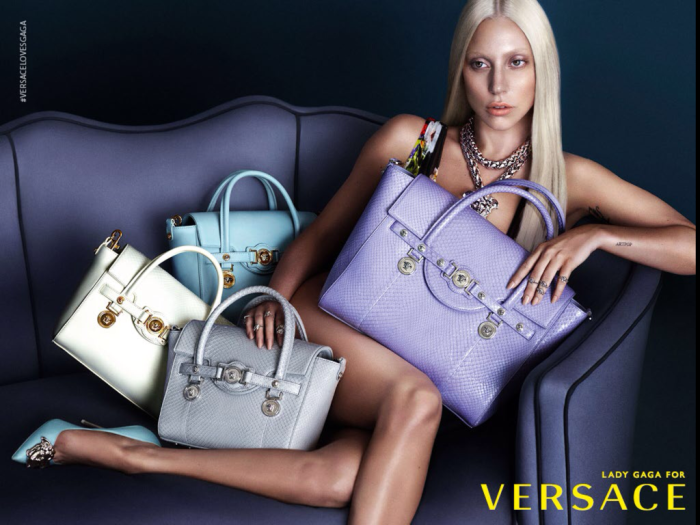 Tommy Beauty Pro: Lady Gaga For Versace S/S 2014 Campaign