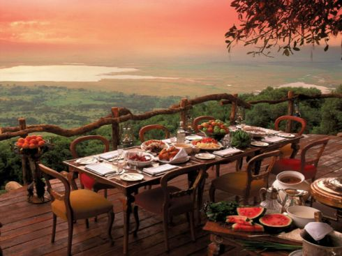 Crater Lodge 坦尚尼亞