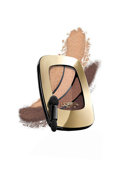 L'ORÉAL PARIS COLOUR RICHE EYE SHADOW QUAD IN BECAUSE I'M WORTH IT!