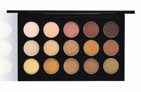 M·A·C EYESHADOW x 15 WARM NEUTRAL
