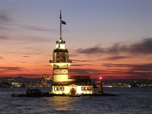 Maiden's Tower,土耳其 (Turkey)