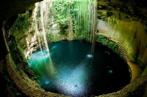 Underground Natural Springs in Mexico