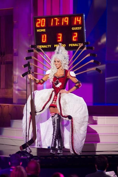 Miss Canada 2014 Chanel Beckenlehner
