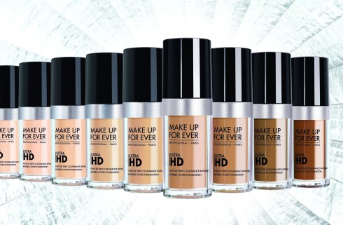 MAKE UP FOR EVER Ultra HD Foundation Launch