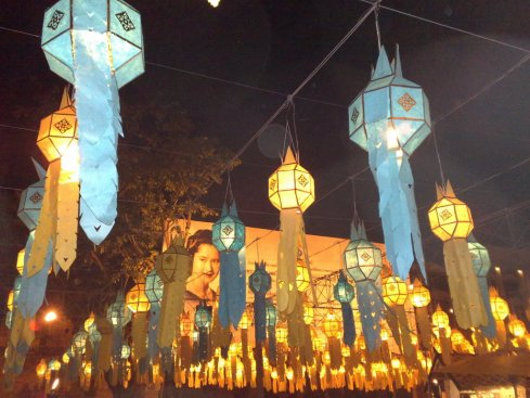 Lanterns-in-Tha-Pae-Gate-Chiang-Mai